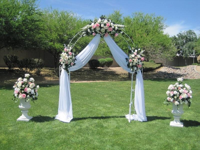 Кованная арка, свадебная арка, под аркой, арки цена