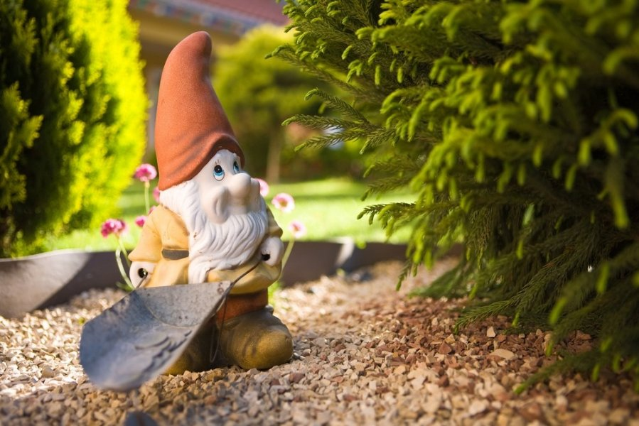 садовая фигура, фигурки для сада, садовая фигура из полистоуна