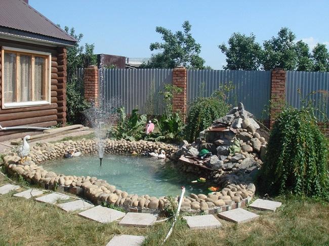 фонтан своими руками, садовые фонтаны, купить фонтан