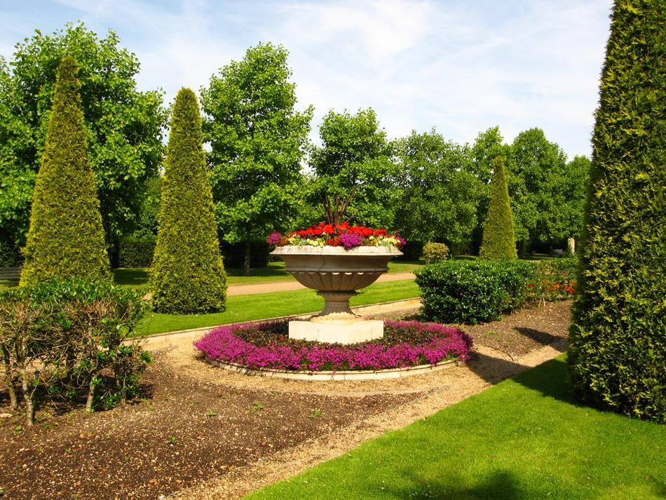 Риджентс парк Англия Regent's Park розы розарий альпийская горка цветник вазон