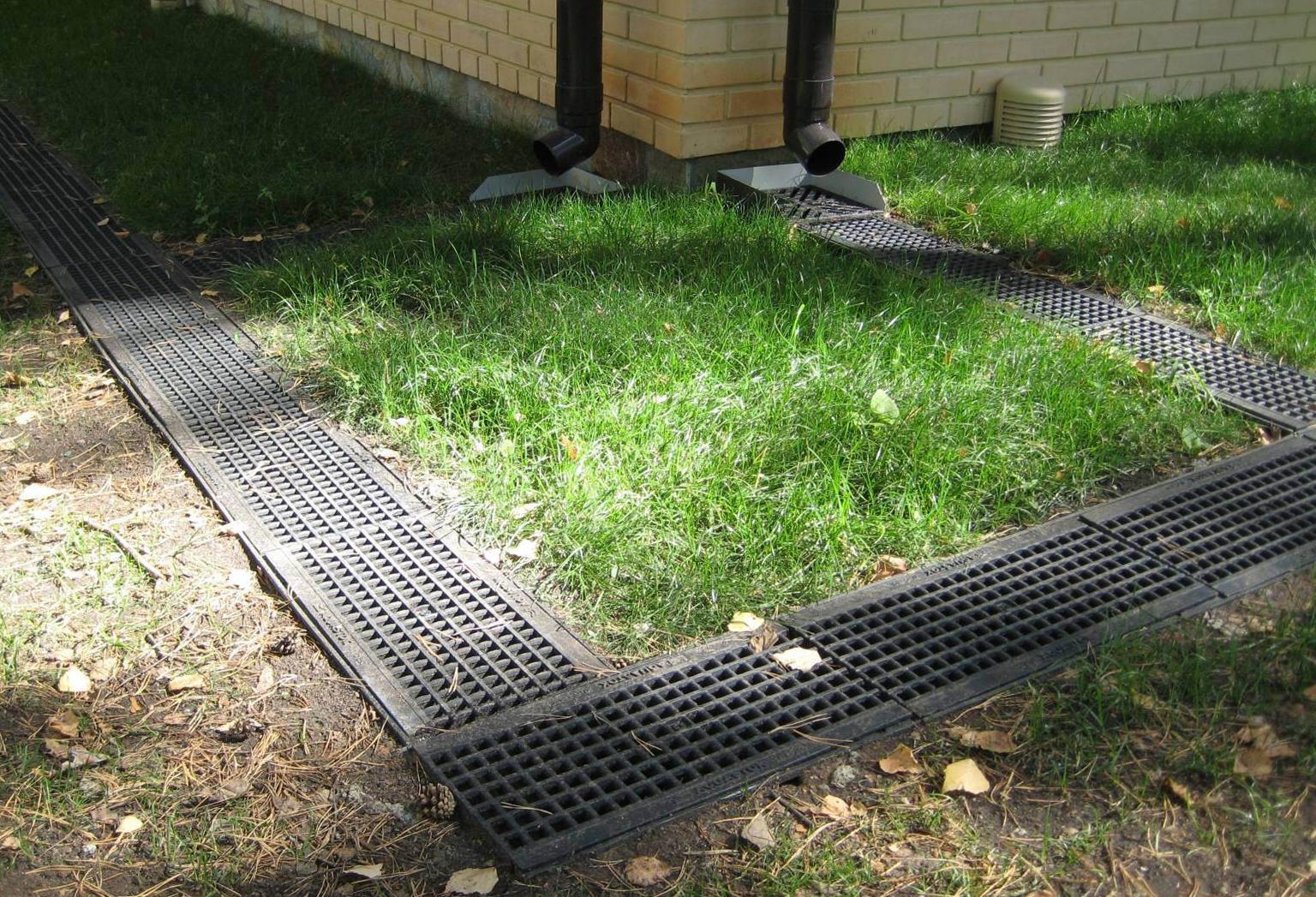 дренаж садового участка своими руками дренажная система