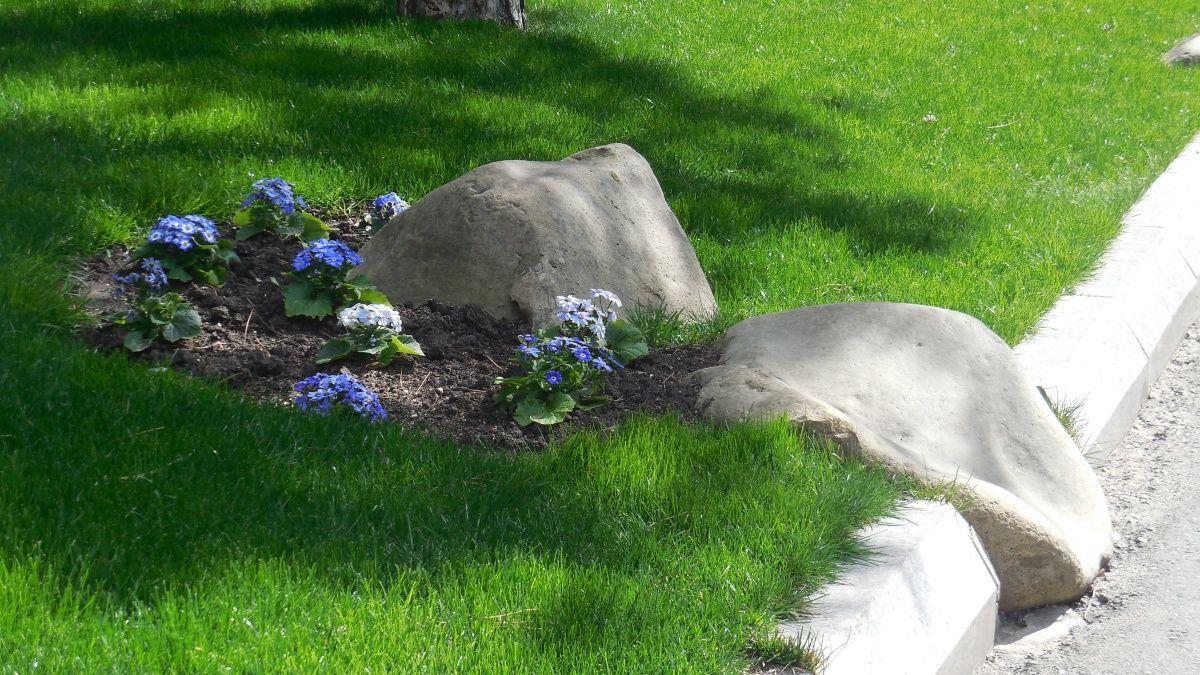 рокарий бордюр садовая дорожка своими руками