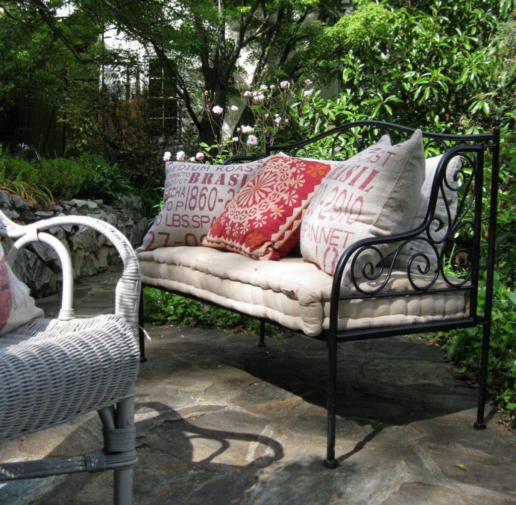 кованая мебель для сада купить недорого