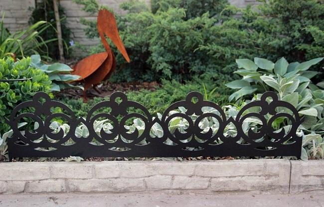 купить забор, декоративный забор, забор для клумбы, декоративные ограждения