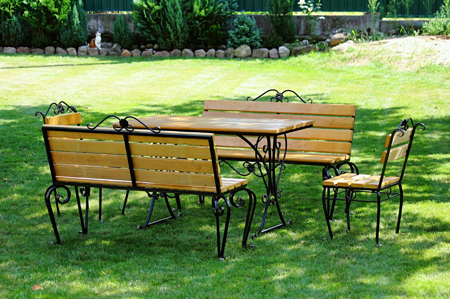 комплекты кованой мебели садовая мебель купить недорого