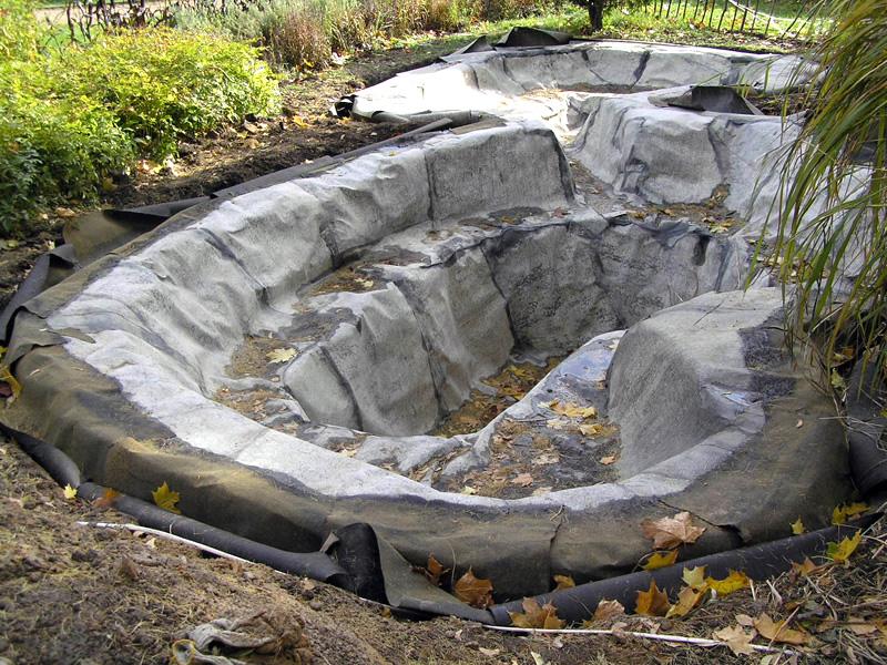 Построить водоем на даче