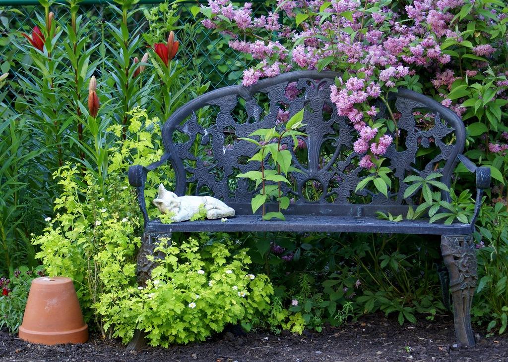 скамейка садовая купить недорого