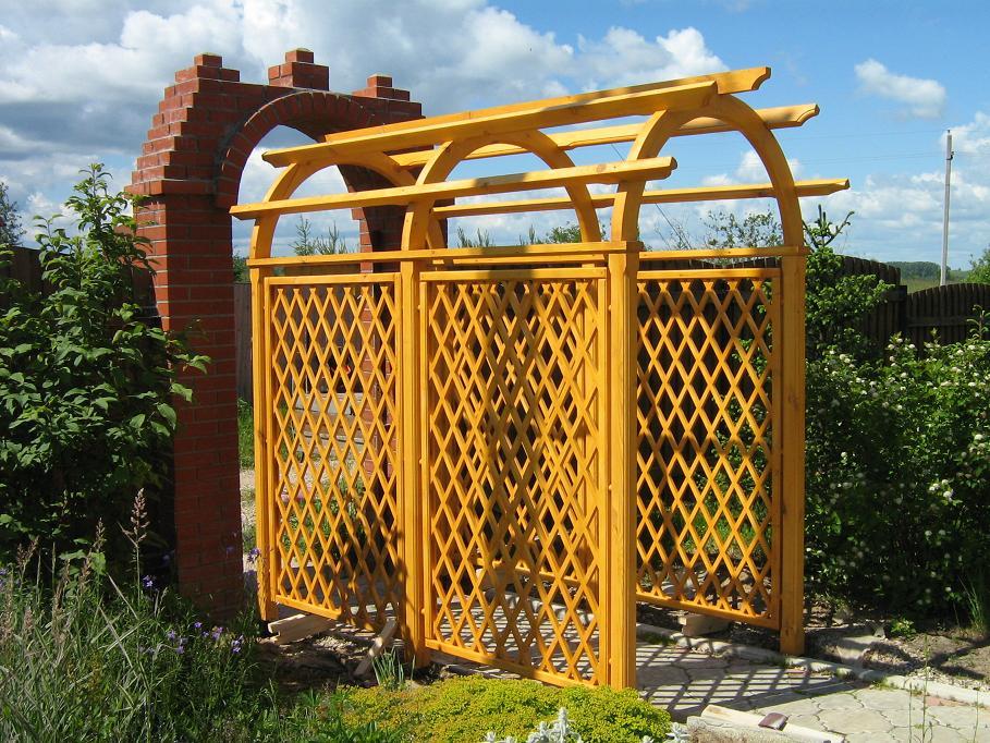 арка садовая пергола для сада своими руками