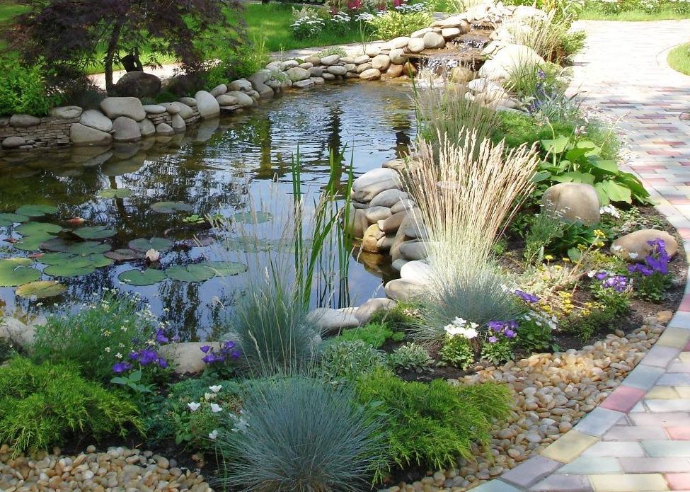 очистка садового пруда водоема своими руками