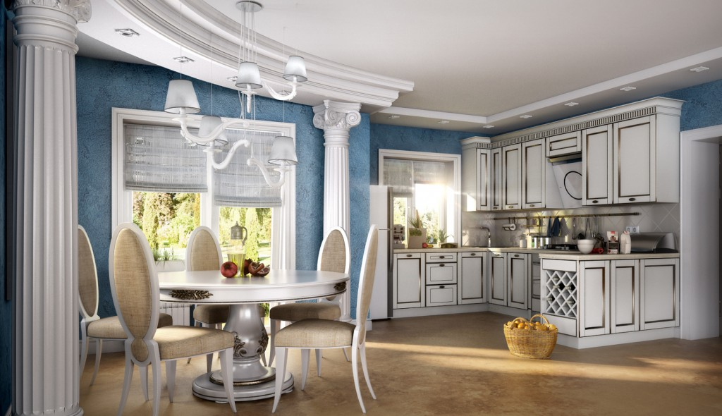Кухня греческий стиль дизайн