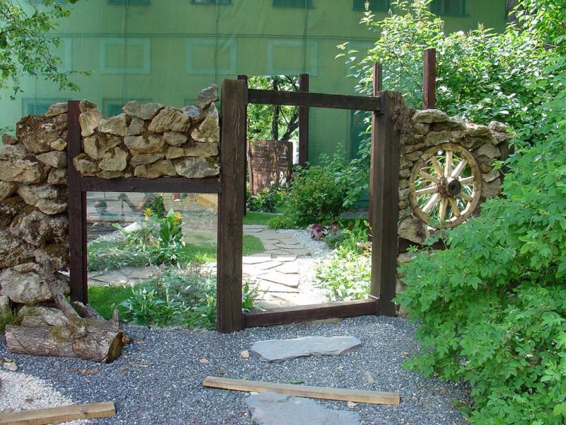 зеркала, зеркало в саду, ландшафтный дизайн, дизайн дачи, как своими руками украсить