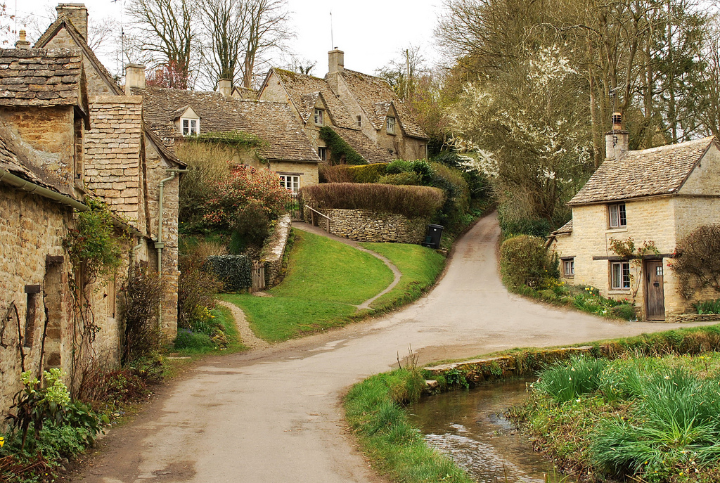 деревня Бибури Англия