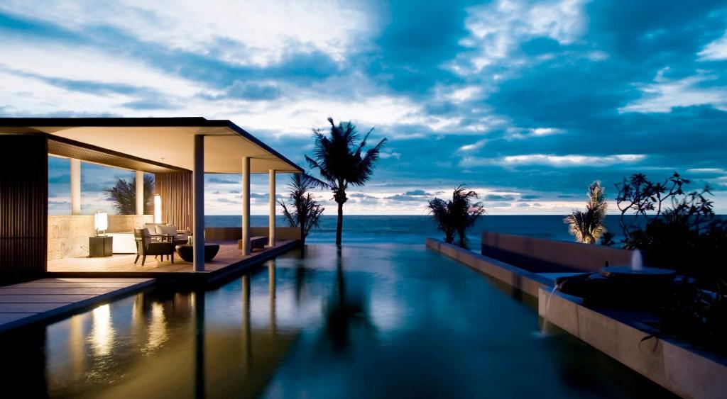 бесконечный бассейн Бали infinity