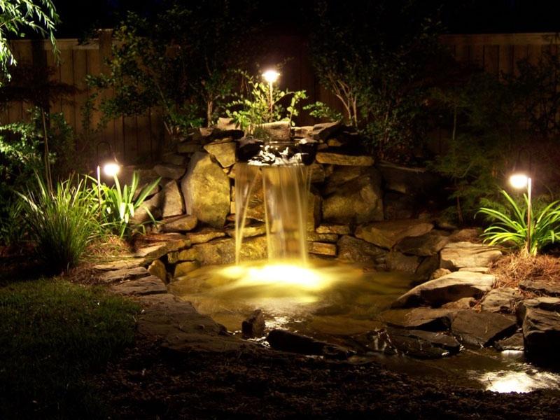 освещение для сада своими руками