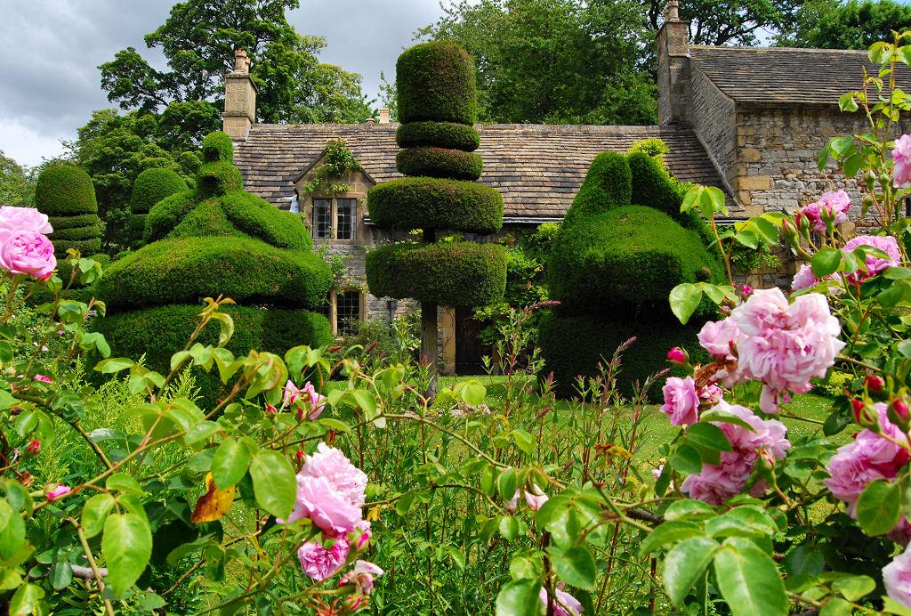 классический английский пейзажный сад