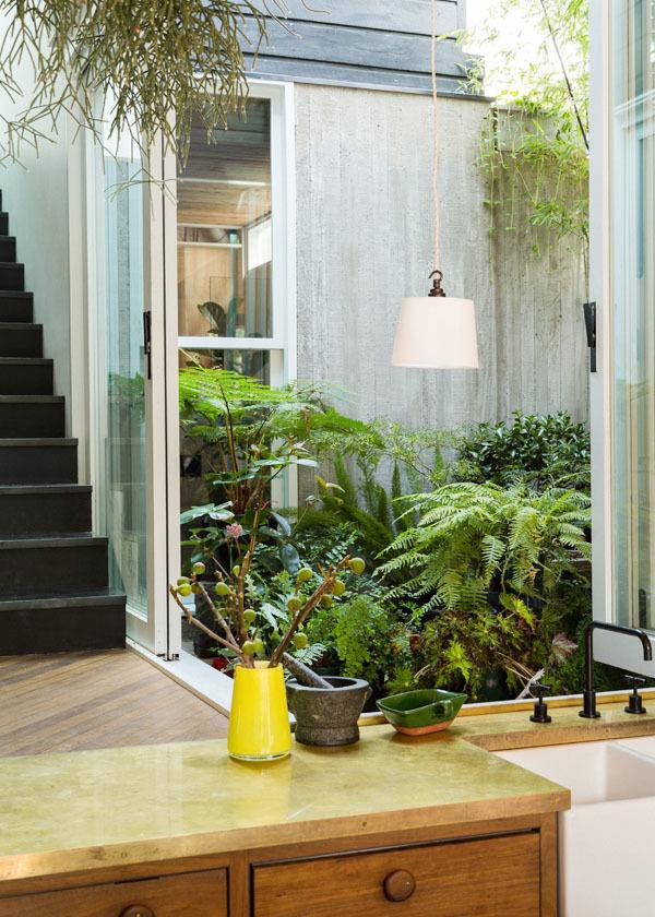 дизайн маленького сада заднего двора