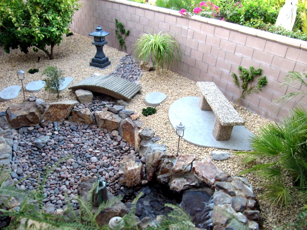 сад в японском стиле своими руками