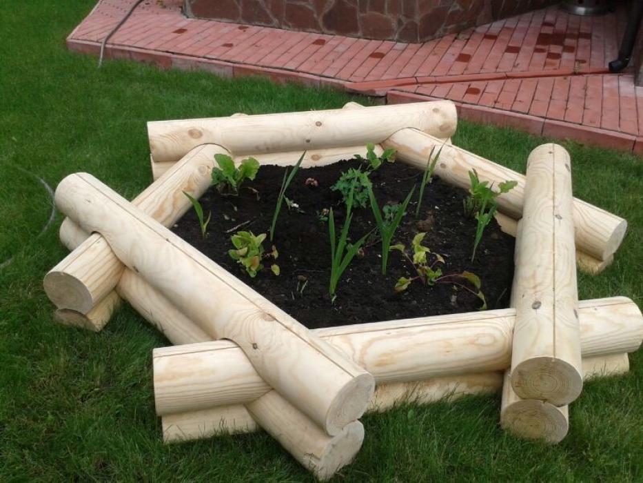 садовый декор своими руками клумбы