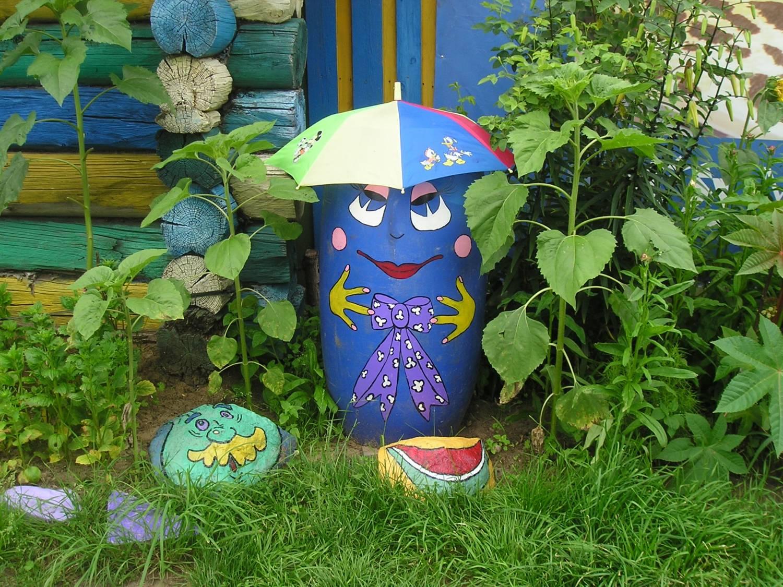 украшение для сада своими руками