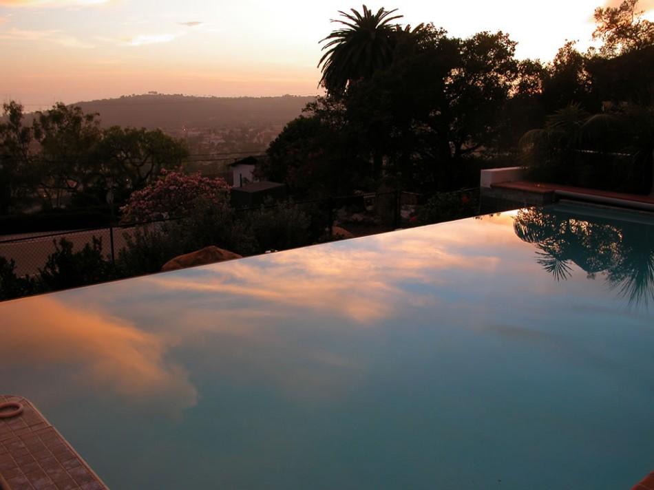 Санта Барбара зеркало небес бассейн