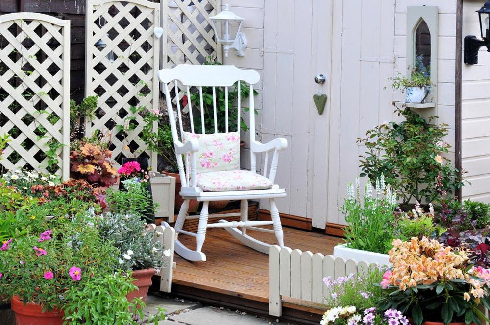 оформить патио своими руками мебель для сада