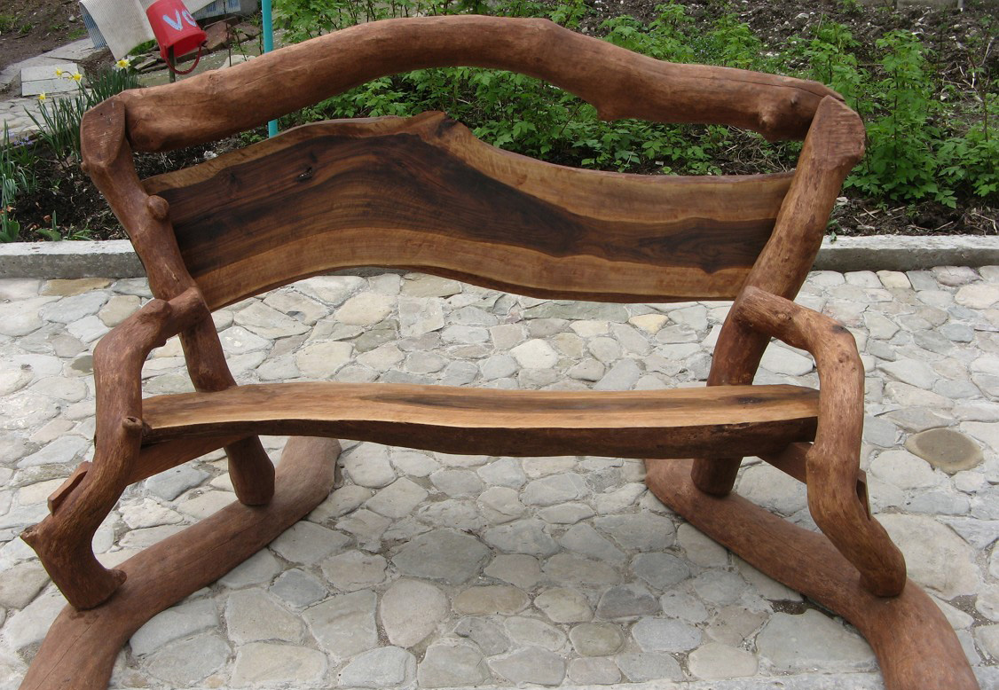 деревянная скамейка своими руками
