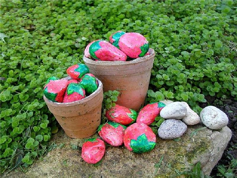камень своими руками, декоративный камень, сад камней