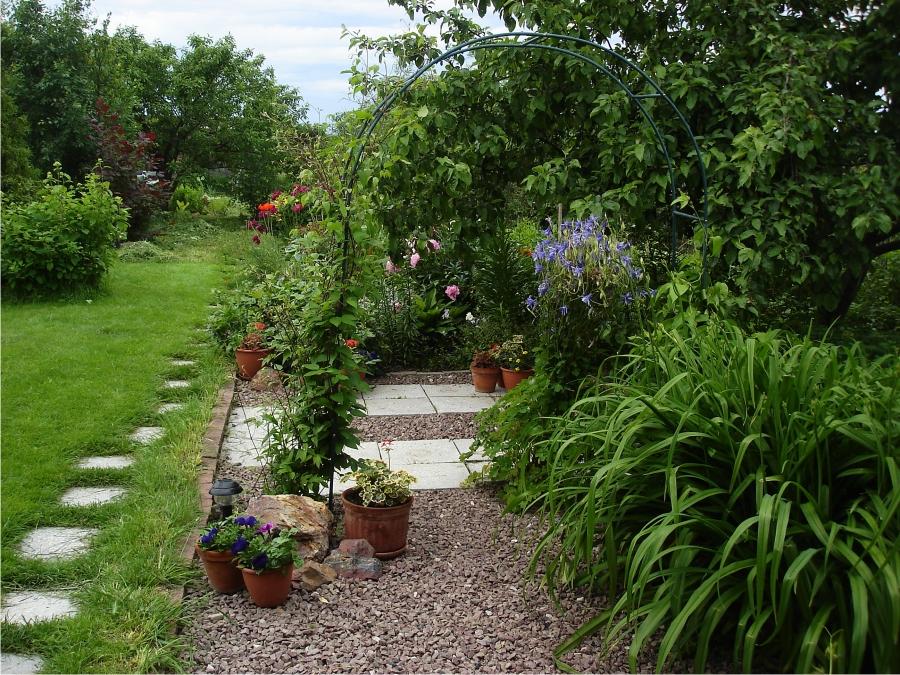 гравийное покрытие для сада своими руками