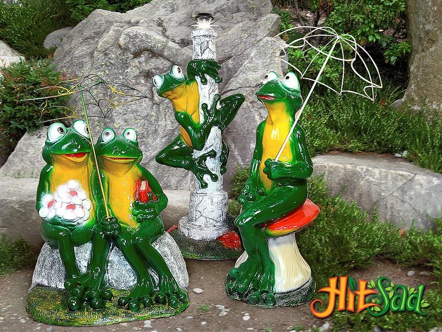 лягушка садовая фигура купить недорого