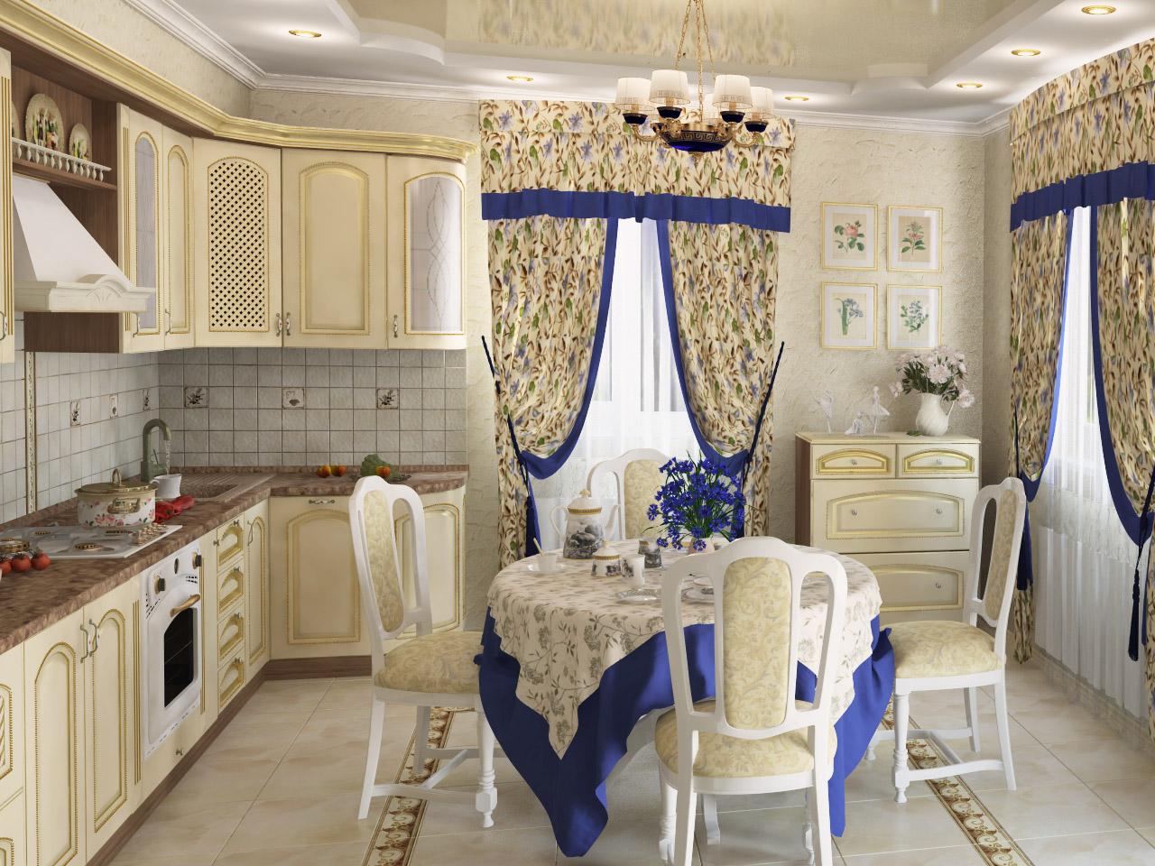 французский прованс стиль текстиля для дачи или загородного дома