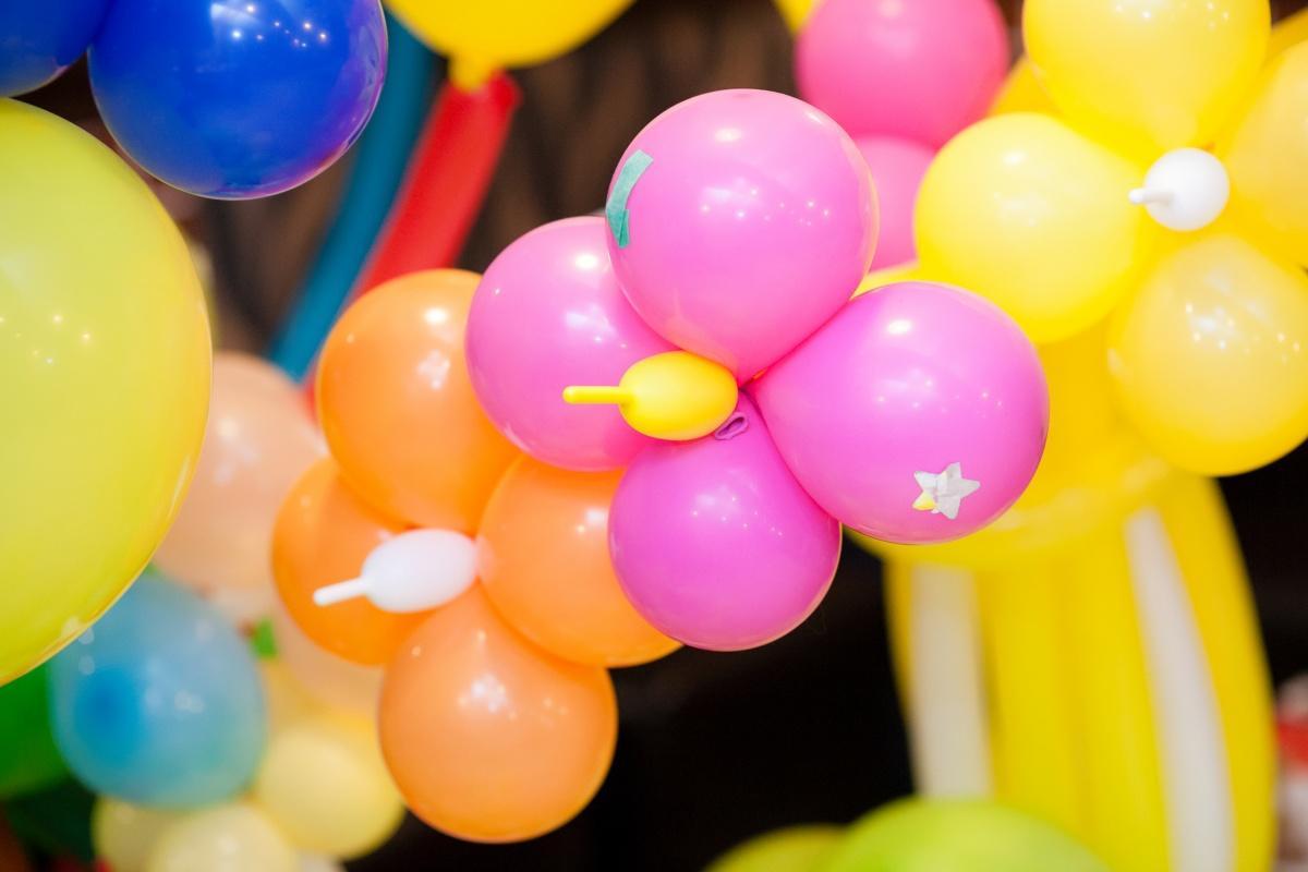 детский праздник на даче своими руками шары