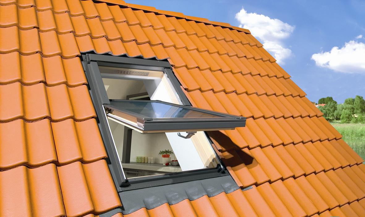 как оформить мансардные окна