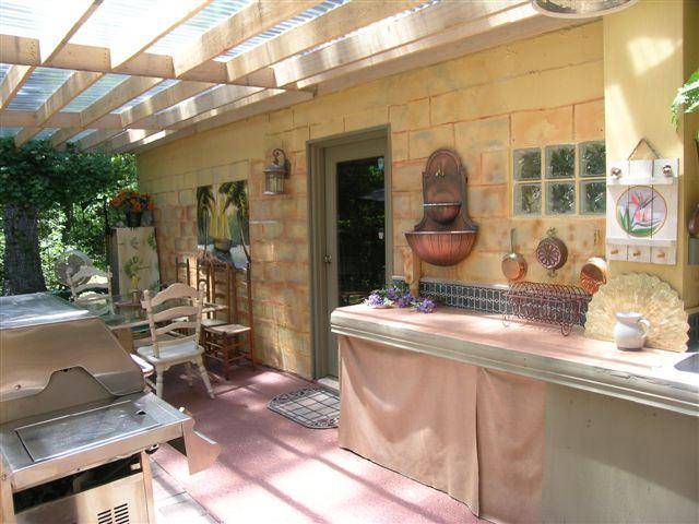 летняя кухня недорого своими руками