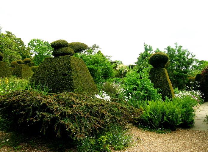 красивый сад Грейт Дикстер сад Кристофера Ллойда декоративный кустарник