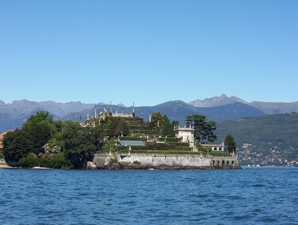 висячие сады Италия остров Изола Белла