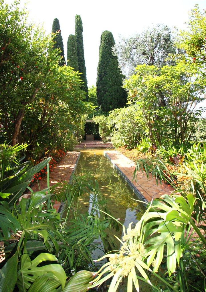 сады Эфрусси де Ротшильд Франция красивый сад