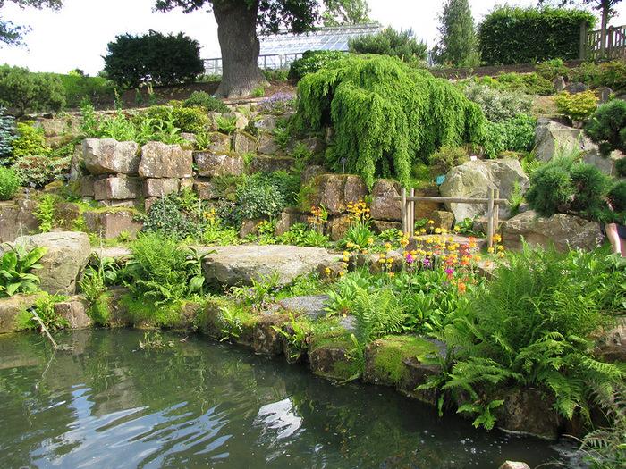 красивый сад сады Уизли Англия садовая дорожка пруд
