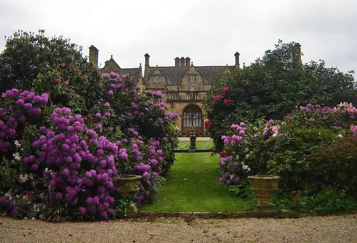 сады Бартон Хаус Англия Barton House красивый сад