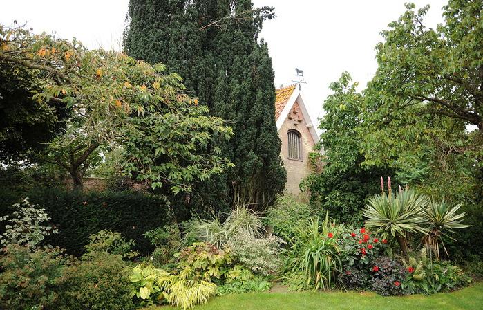 Магнолия Хаус красивый сад Англия
