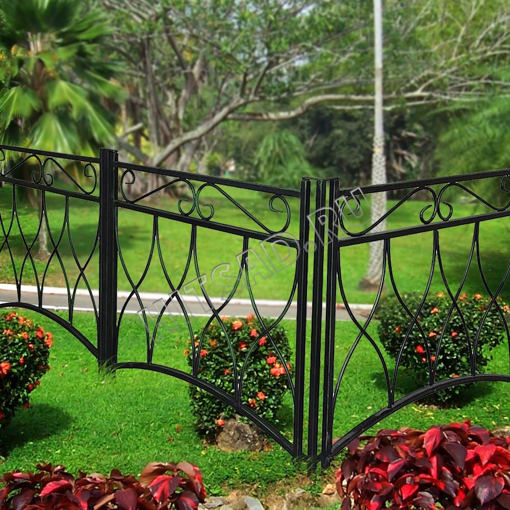 декоративные заборчики для живых изгородей