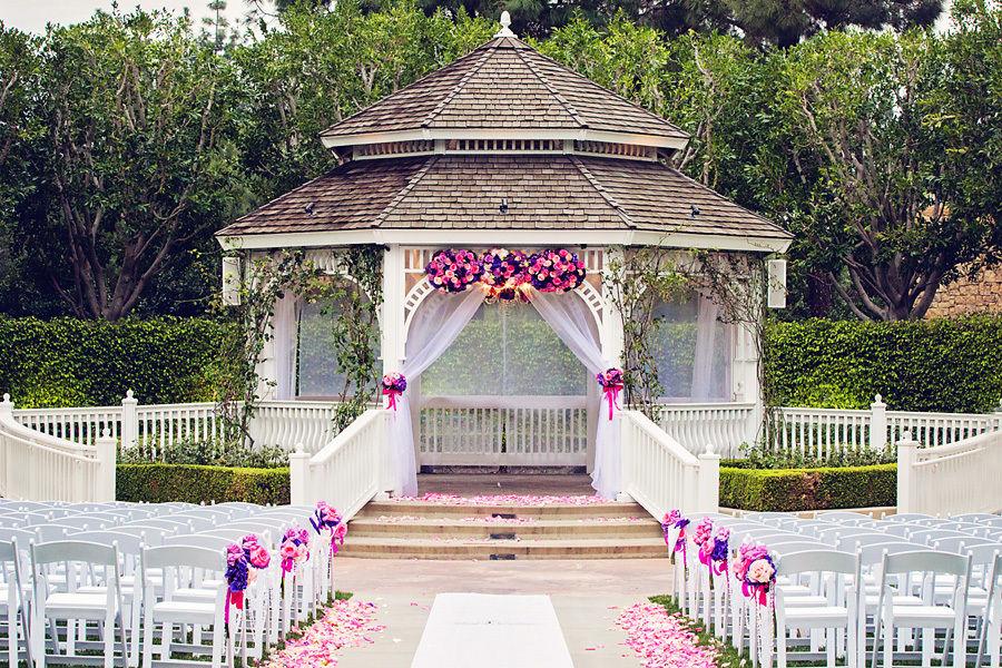 садовая беседка свадьба
