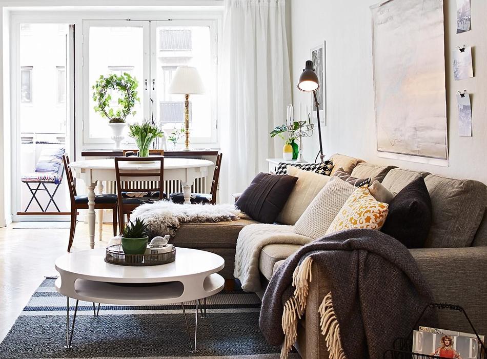 скандинавский минимализм декор интерьера стиль текстиля для дачи или загородного дома