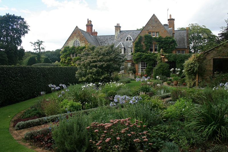сады Котон Манорс Coton Manor Англия цветник  усадьба