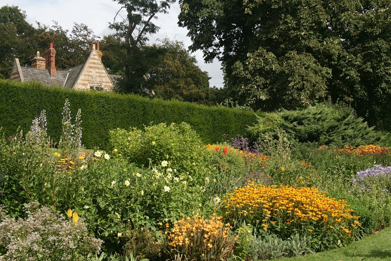 сады Котон Манорс Coton Manor Англия красивый сад