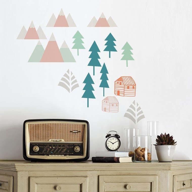 ретро декор интерьера стиль текстиля для дачи или загородного дома