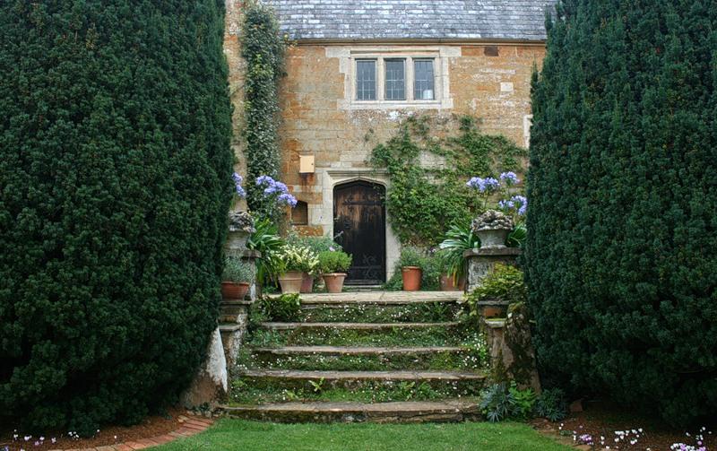 сады Котон Манорс Coton Manor Англия красивый сад топиари усадьба