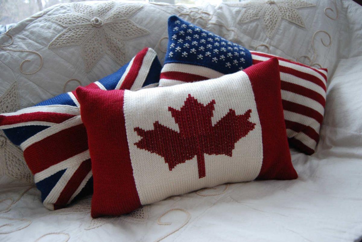 флаги стран национализм декор интерьера стиль текстиля для дачи или загородного дома