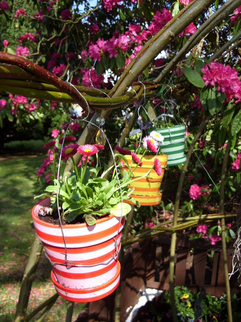 кашпо для цветов своими руками идеи для сада