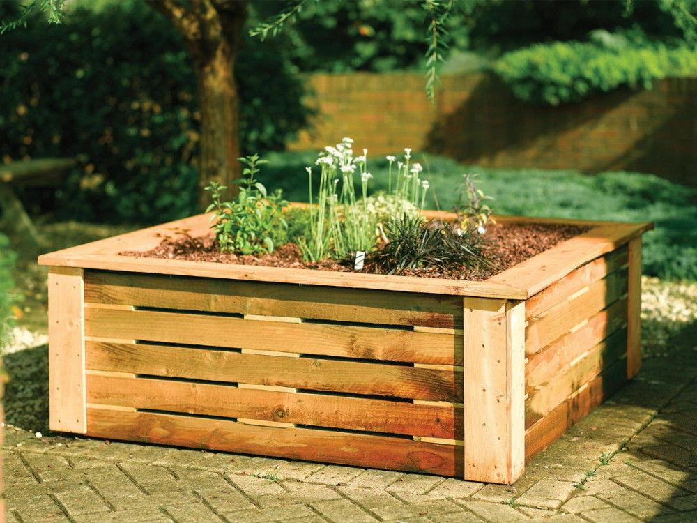 деревянный ящик для цветов своими руками