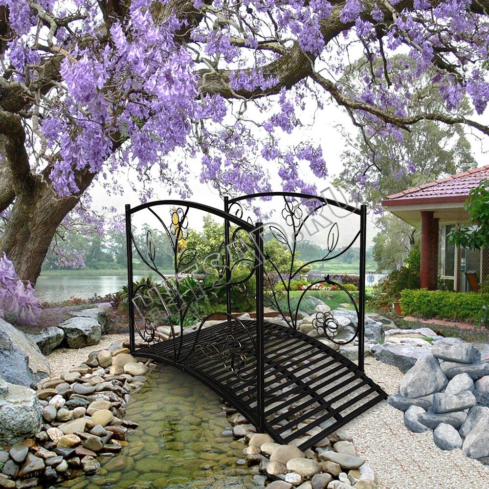 декоративный мостик японский сад садовый мостик